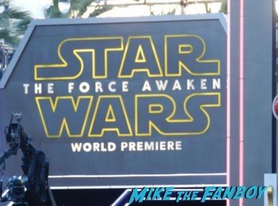 Star Wars The Force Awakens Los Angeles Premiere 2