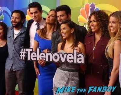 Telenovela press junket interview eva longoria 2