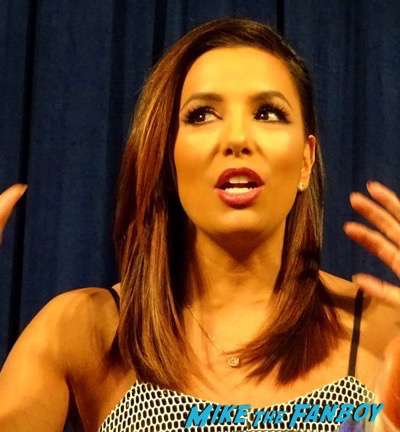 Telenovela press junket interview eva longoria 2