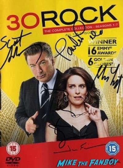 Tina Fey fan photo book tour signing autographs 4