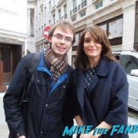 Tina Fey fan photo book tour signing autographs 4