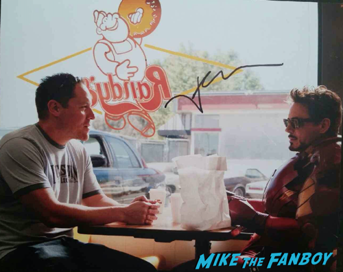 Jon Favreau signed autograph photo