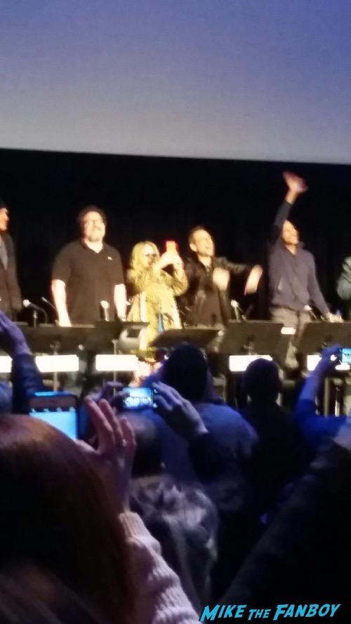 True Romance Live Read Patricia Arquette signing autographs fan photo 1