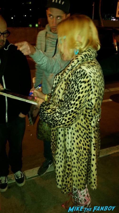 True Romance Live Read Patricia Arquette signing autographs fan photo 4