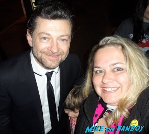 andy serkis fan photo selfie
