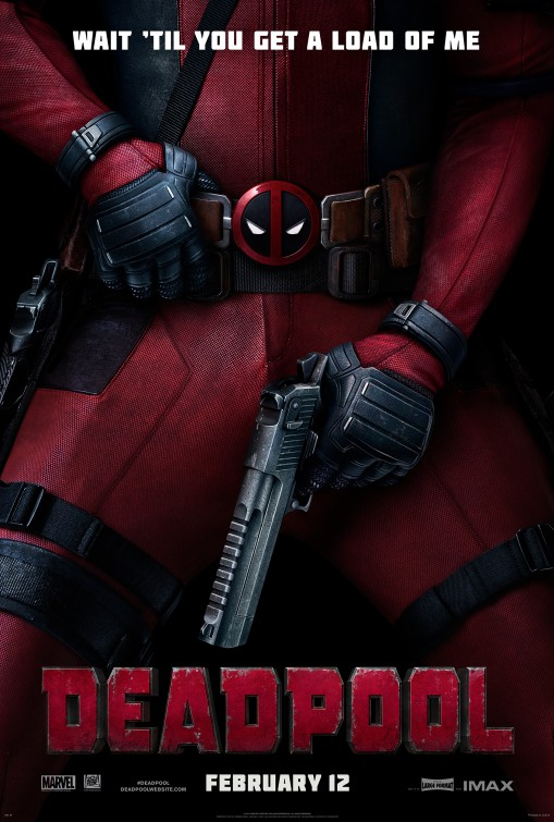 Deadpool poster one sheet ryan reynolds rare promo