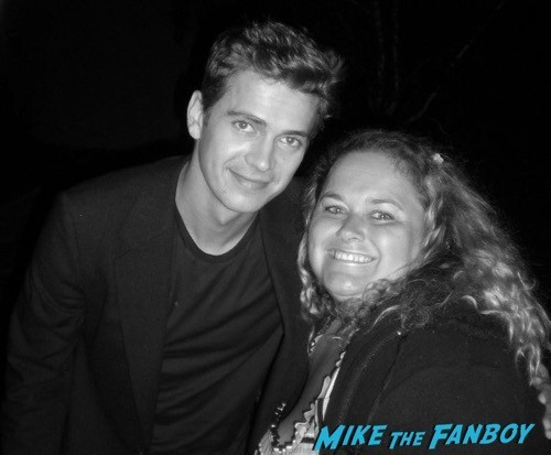 hayden christensen fan photo selfie