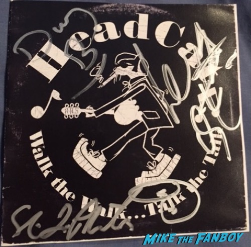 lemmy motorhead signed autograph rare 2
