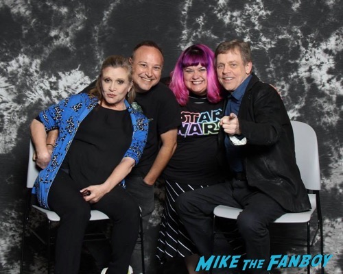 mark hammil carrie fisher photo convention