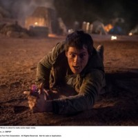 MAZE RUNNER: THE SCORCH TRIALS Thomas (Dylan O'Brien) is about to make some major noise. Photo credit: Richard Foreman, Jr. SMPSP TM and © 2015 Twentieth Century Fox Film Corporation.  All Rights Reserved.  Not for sale or duplication.