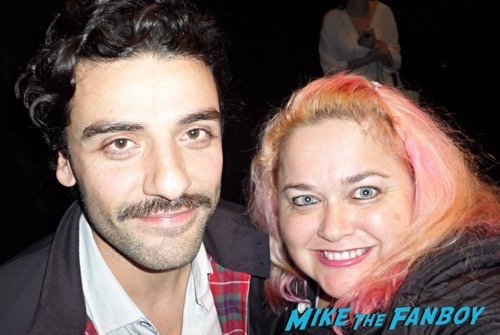 Manic Monday! Pinky Awakens The Force After Meeting The Cast Of Star Wars! Oscar Isaac! Ewan McGregor!