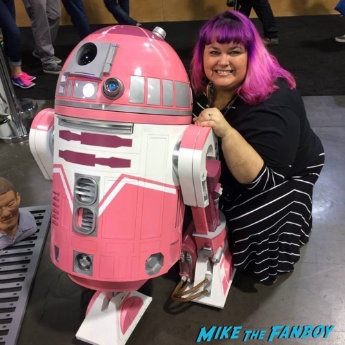 r2 k2 at star wars celebration
