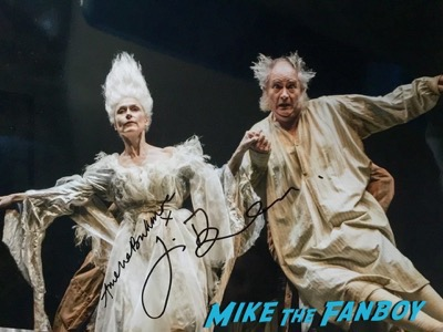 Jim Broadbent signed autograph photo psa