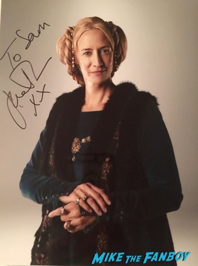 Janet McTeer signed autograph photo psa