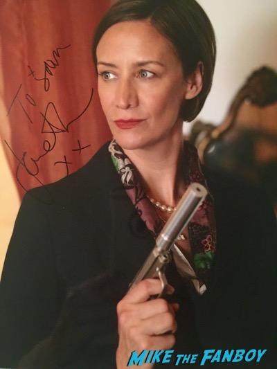 Amelia Bullmore signed autograph photo psa
