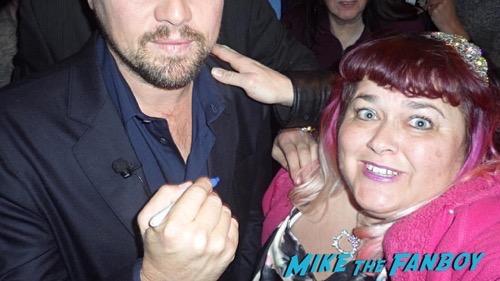 Leonardo DiCaprio fan photo selfie