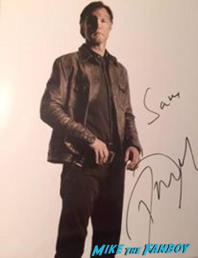 David Morrissey signed autograph photo psa