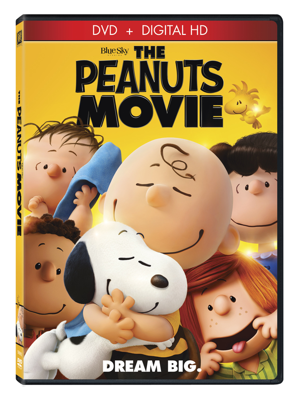 the peanuts movie special edition blu-ray