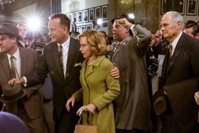 Bridge of Spies press still tom hanks
