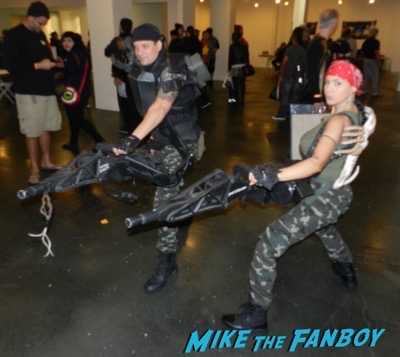 Aliens Reunion meeting Michael Biehn Lance Henriksen Carrie Henn  2