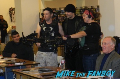 Aliens Reunion meeting Michael Biehn Lance Henriksen Carrie Henn  1