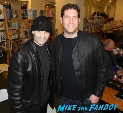 Aliens Reunion meeting Michael Biehn signed autograph rare