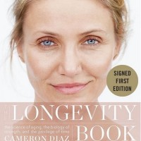 Cameron Diaz signed book longevity 1