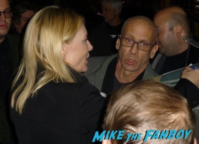 Cate Blanchett rooney mara signing autographs carol q and a 13