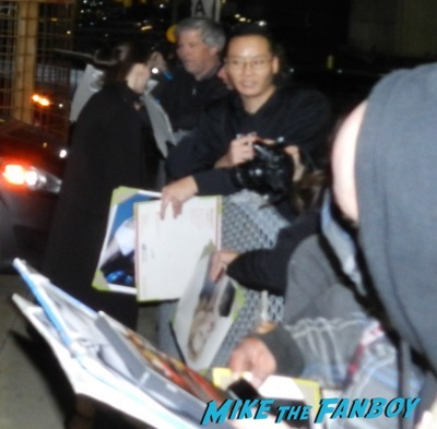 Cate Blanchett rooney mara signing autographs carol q and a 1