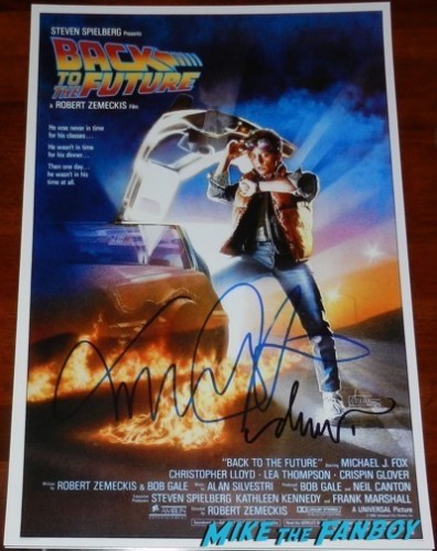 Drew Struzan signed Back to the Future poster