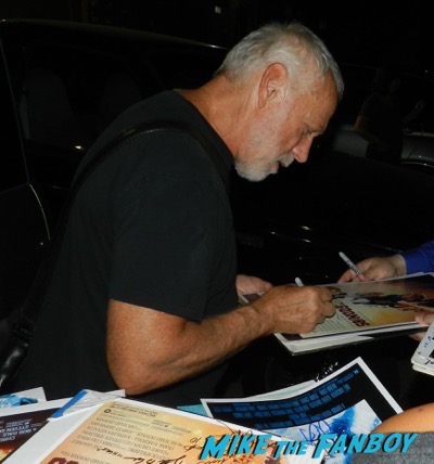 Drew Struzan signing autographs tales from Halloween 9