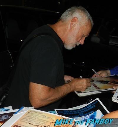 Drew Struzan signing autographs tales from Halloween 9
