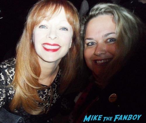 Frances Fisher fan photo selfie