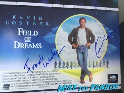 KEvin Costner signed Field of dreams