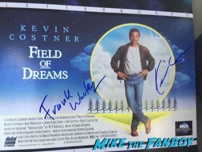 KEvin Costner signed Field of dreams