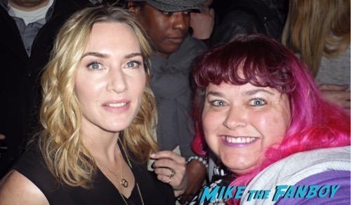 Kate Winslet fan photo selfie