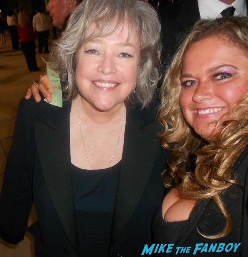 Kathy Bates Fan Photo Selfie