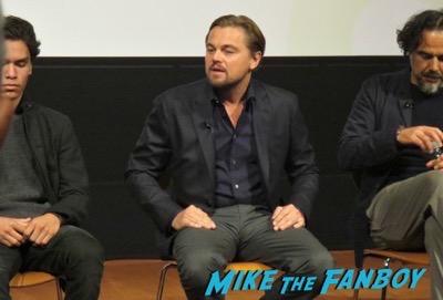 Leonardo DiCaprio q and a revenant 1