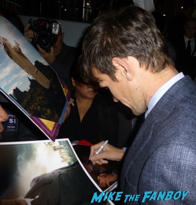 Pride Prejudice and Zombies Premiere signing autographs8