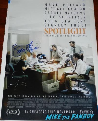 Sacha Pfeiffer Signed Autograph Spotlight poster 2