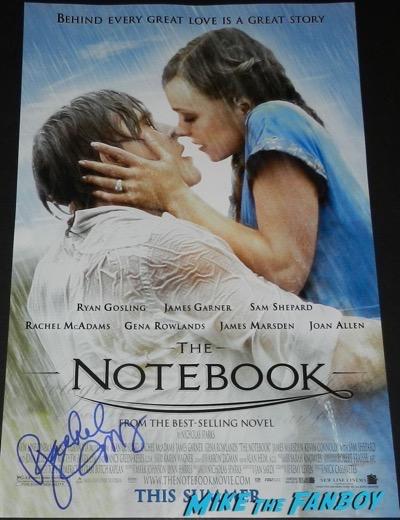 Rachel McAdams Signed Autograph Notebook poster 4