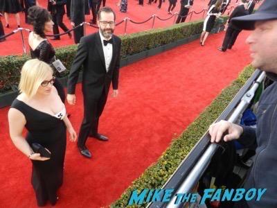 Patricia Arquette SAG Awards 2016 signing autographs 50