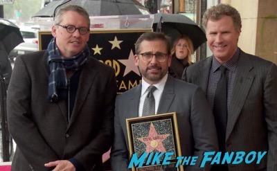 Steve Carell Walk of Fame star ceremony 10