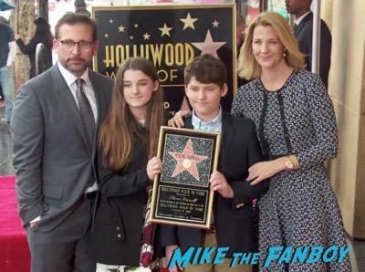 Steve Carell Walk of Fame star ceremony 6