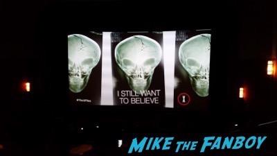 The X-Files Fan Screening Alien spaceship the grove LA20