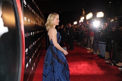 The X-Files premiere red carpet afterparty Gillian Anderson David Duchovny 16