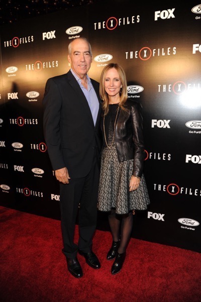 The X-Files premiere red carpet afterparty Gillian Anderson David Duchovny 18