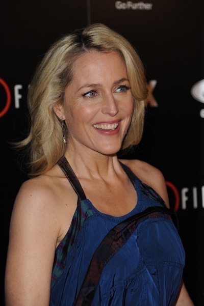The X-Files premiere red carpet afterparty Gillian Anderson David Duchovny 3