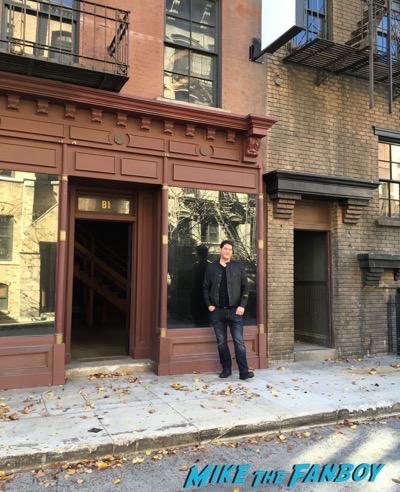Warner Bros lot 2 broke girls diner exterior