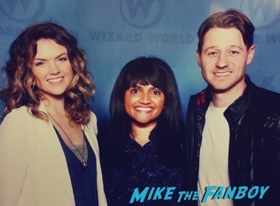 gotham cast ben mckenzie Wizard world meeting chris evans jeremy renner 12